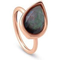 Nomination Ring - Diana Tropfen Grau - 145602/002/023