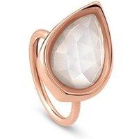 Nomination Ring - Diana - Tropfen Weiss Groß - 145603/001/024