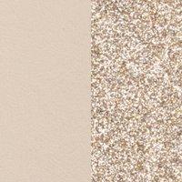 Les Georgettes Ledereinsatz Ring - Beige Gold - LEDC4-12 beige