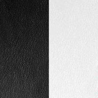 Les Georgettes Ledereinsatz Ring - S bicolor