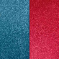 Les Georgettes Ledereinsatz Ring - Blau Rot - LEDM7-12
