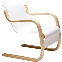 "Artek Aalto armchair 42 ""Small Paimio"", white"