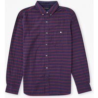 Bearcat Double Striped Shirt - Tibetan Red/marine Blue