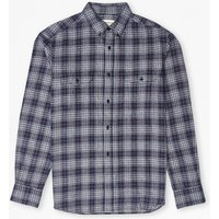 Blue Monday Check Shirt - Indigo