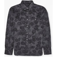 Buddy Blur Floral Shirt - India Ink