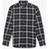 Black Check Shirt - Black Check