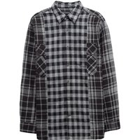 Bits And Pieces Patchwork Shirt - Black Checks