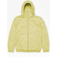 Aura Nylon Run Hooded Jacket - Limelight