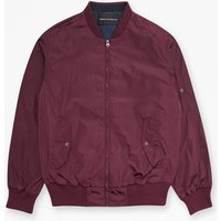 Boulevard Light Bomber Jacket - Bordeaux/marine Blue