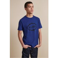 Blue T-shirt - Fathom Blue/black