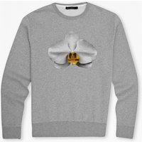 Block Sport Orchid Sweat - Grey Melange