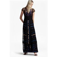 French ConnectionCoachella Embroidered Maxi Dress - black multi