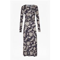 French ConnectionSundown Jersey Paisley Wrap Dress - nocturnal multi