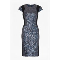 French ConnectionLunar Sparkle Sequin Pencil Dress - charcoal