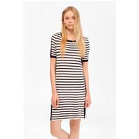 French ConnectionCass Striped Jumper Dress - summer white/nocturnal