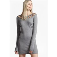 French ConnectionEmily Knit Jumper Dress  - grey mel