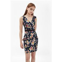 French ConnectionRiver Daisy Printed Pencil Dress  - utility blue multi