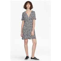 French ConnectionAgnes Printed Draped Dress - black/white