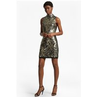 French ConnectionMoon Rock Sequin Tunic Dress - moon rock
