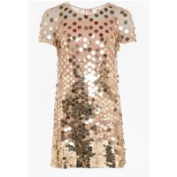 Basu Sparkle Tunic Dress - Gold