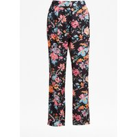 Bridget Satin Relaxed Trousers - Multi/black