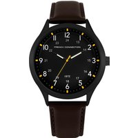 Brown Leather Strap Watch - Brown