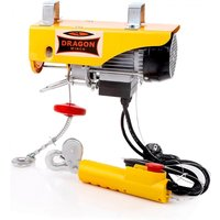 Paranco Elettrico 300/600Kg 230V 12m Dragon Winch Industrial DWI