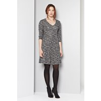 Crazy Carol Fit And Flare Dress