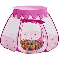 Spielzelt Prinzessinnen Palast ¦ rosa/pink ¦ Polyester ¦ Maße (cm): H: 90 Ø: 100 - Höffner