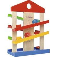 Eichhorn Kugelbahn-Haus ¦ mehrfarbig ¦ Lindenholz massiv mehrfarbig, lackiert Baby > Spielen > Lernspielzeug - Höffner