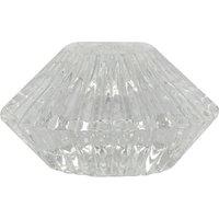 Kerzenhalter ¦ transparent/klar ¦ Glas Ø: 7.8 Dekoration > Kerzen & Lichter > Kerzenständer - Höffner