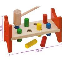 Eichhorn Klopfbank ¦ mehrfarbig ¦ Buchenholz Baby > Spielen > Lernspielzeug - Höffner