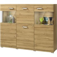 set one by Musterring Highboard  Madison ¦ holzfarben ¦ Maße (cm): B: 150 H: 121 T: 38 Kommoden & Sideboards > Highboards - Höffner