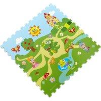 Chicco Puzzelmatte  Schloss ¦ mehrfarbig ¦ Oberfläche: Siebdruckschicht , PE -Schaumstoff  ¦ Maße (cm): B: 93 H: 1 Teppiche > Kinderteppiche - Höffner