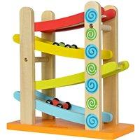 Eichhorn Autorennbahn ¦ mehrfarbig ¦ Birkenholz und Sperrholz, lackiert Baby > Spielen > Lernspielzeug - Höffner
