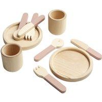 FLEXA Geschirr-Set The Kitchen ¦ rosa/pink ¦ Birke massiv - Höffner
