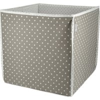 Aufbewahrungsbox 'Eli' Elefant ¦ mehrfarbig ¦ Oberseite: 100% Baumwolle Rückseite: 65% Poyester, 35% Baumwolle Füllung: Pappe,