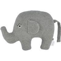 Kuscheltier Little Elefant ¦ grau ¦ Füllung aus 100% Polyester, Bezug aus 100% Baumwolle (gehäkelt) ¦ Maße (cm): B: 20 H: 16 -