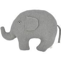 Kuscheltier Little Elefant ¦ grau ¦ Füllung aus 100% Polyester, Bezug aus 100% Baumwolle (gehäkelt) ¦ Maße (cm): B: 44 H: 39 -