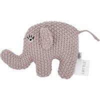 Kleine Rassel Little Elefant ¦ rosa/pink ¦ Füllung aus 100% Polyester, Bezug aus 100% Baumwolle (gehäkelt) ¦ Maße (cm): B: 10 H