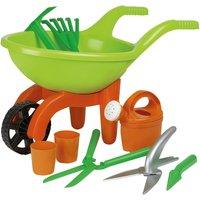 Schubkarre mit Gartenwerkzeug, 9-teilig Simba ¦ grün ¦ Kunststoff (Polypropylen) ¦ Maße (cm): B: 29 H: 27 - Höffner
