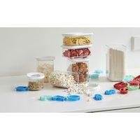 Rosti Mepal Vorratsdose, 5-teiliges Set  Modula ¦ transparent/klar ¦ Kunststoff Küchenzubehör & Helfer > Vorratsbehälter - Höffner