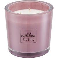 3-Docht Duftkerze Magnolie ¦ rosa/pink ¦ Glas , WachsØ: 12 Dekoration > Kerzen & Lichter - Höffner