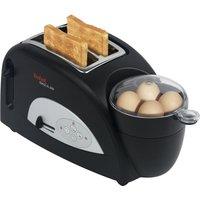 Tefal Toaster  TT 5500 ¦ schwarz ¦ Kunststoff ¦ Maße (cm): B: 40 H: 22,8 T: 23,4 Elektrokleingeräte > Toaster - Höffner