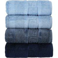 CaWö Duschtuch 1001 ¦ blau ¦ 100% Baumwolle Badtextilien und Zubehör > Handtücher & Badetücher > Handtücher - Höffner