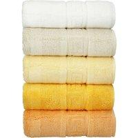 CaWö Duschtuch 1001 ¦ gelb ¦ 100% Baumwolle Badtextilien und Zubehör > Handtücher & Badetücher > Handtücher - Höffner