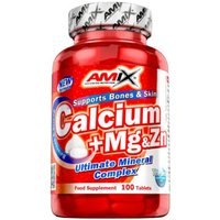 Calcium + mg & zn - 100 tablets