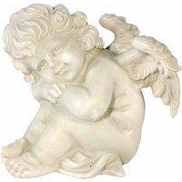 Home affaire Dekofigur Engel Hände auf die Knie gestützt H 16 cm