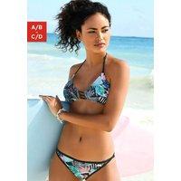 VENICE BEACH Bikini-Top 'Smash' türkis / schwarz