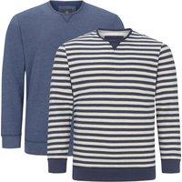Jan Vanderstorm Sweatshirt »ULFRIK« (Packung, 2er-Pack)